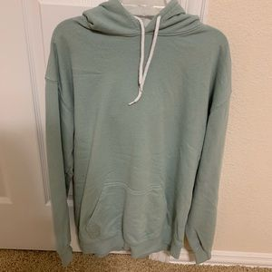 Forever 21 oversized green hoodie